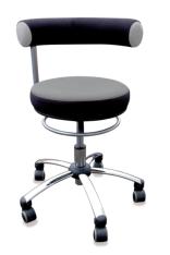 Sanus - Gesundheitsstuhl für Erzieherinnen in grau/schwarz