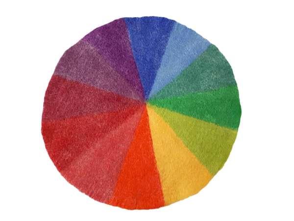 Teppich Großer Farbenkreis