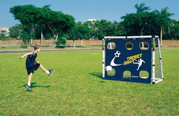 Mini Soccer Goal Set mit Torwand