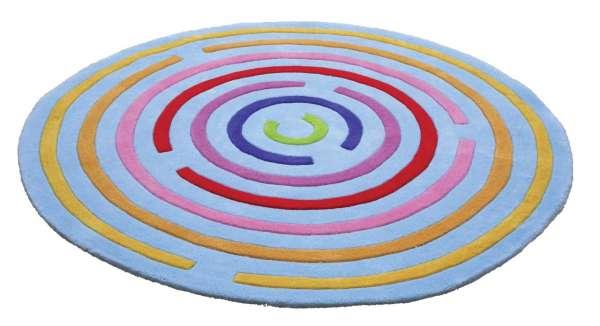 """Spielteppich """"Labyrintho"""", rund, Ø 150 cm"""