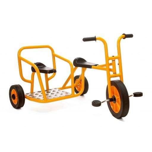 Rabo Dreirad mit Seitenwagen für Kinder von 4 - 8 Jahren