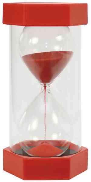 Giga Sanduhr 5 Minuten - rot
