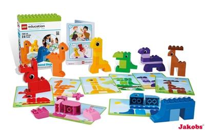 LEGO DUPLO Tier-Bingo für Kinder von 2-5 Jahren