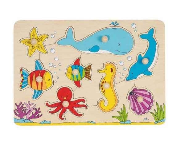 Greif-Puzzle Unterwasserwelt
