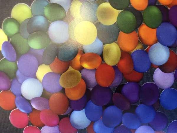 Farbkreisfunkelsteine