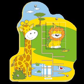 """Wandpuzzle """"Dschungel"""" Löwe"""