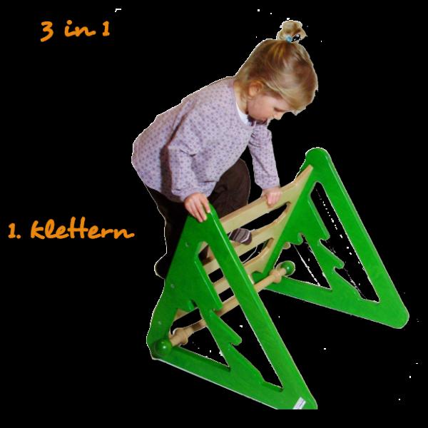 Spielmöbel - Klettern, Rutschen, Wippen