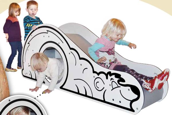 Rutsche Eisbär - Rutschbahn für die Jüngsten