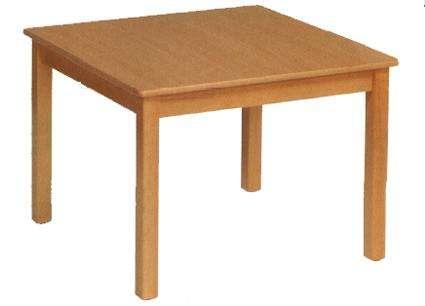 Tisch quadratisch 80 x 80 cm in den Tischhöhen 42 - 76 cm