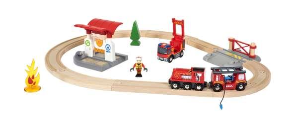 Brio-Bahn Feuerwehr-Set