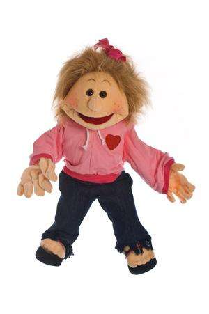 "Living Puppets Handpuppe ""Paula"" 65 cm"