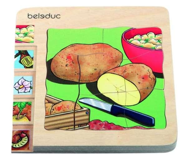 Lagen-Puzzle Kartoffel