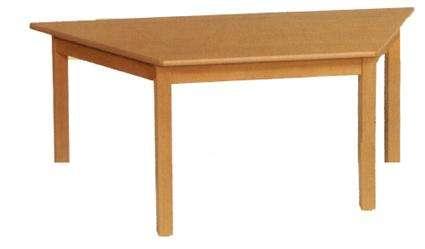 Tisch - Trapeztisch 120 x 60x 60 x 60 cm in den Tischhöhen 42 - 76 cm
