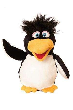 Pinguin Erwin - Handpuppe von Living Puppets