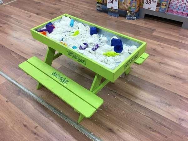 Super Sand Tisch