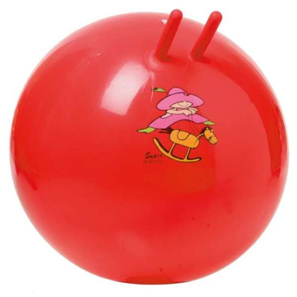 "TOGU Hüpfball Sprungball ""Super"" rot Ø 60 cm"