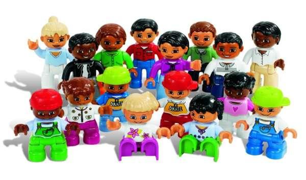 LEGO DUPLO Leute aus aller Welt 16 Teile
