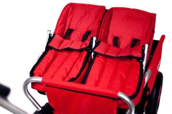 Duo-Babysitze für Krippen-Bollerwagen für 6 + 10 Sitzer
