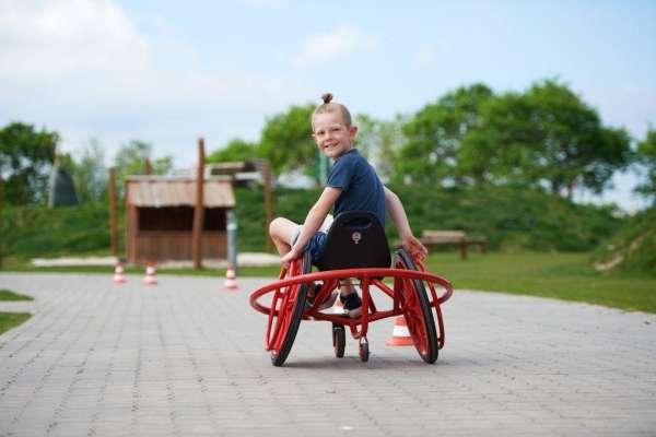Winther Challenge WheelyRider für Kinder von 4 -7 Jahren