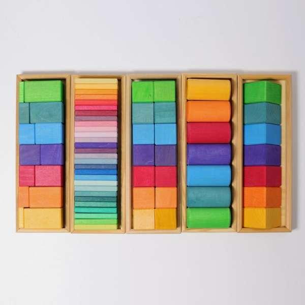 Grimma Bauset Formen und Farben