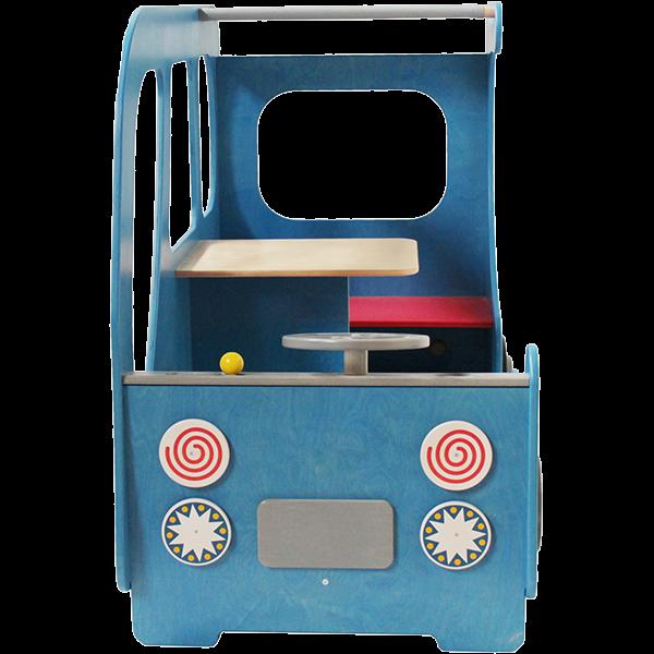 Der blaue Bus - Holzauto