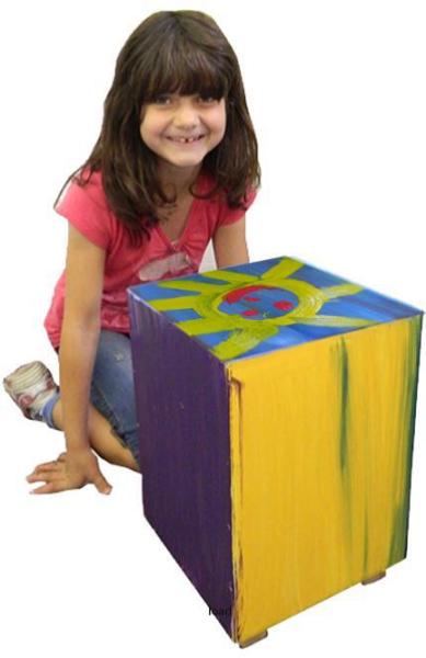 Cajon - Kinderhocker zum selber Bauen von baff