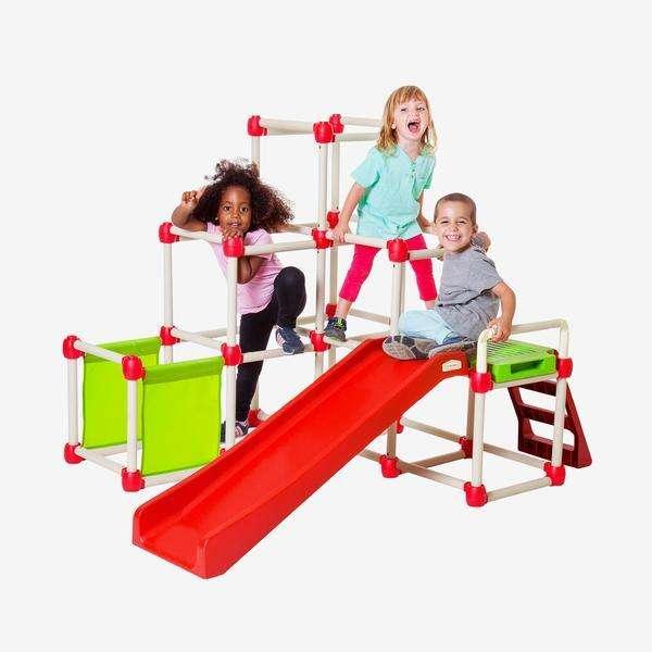 Klettergerüst für drinnen und draußen, für Kinder von 1,5 - 6 Jahren