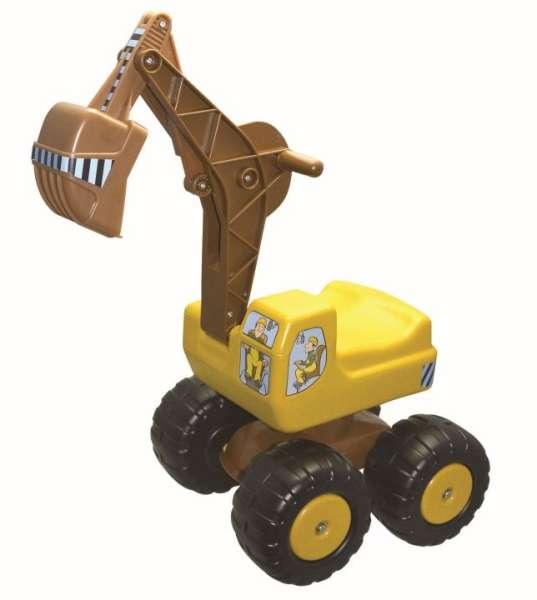 Sitzbagger Bio-Mobby-Dig - belastbar bis 100 kg - KiTa-Spielewelt