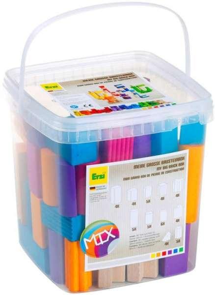 Bausteinmischung MIX - 6 Farben