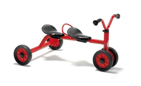 Winther Mini Rutsch Dreirad für zwei