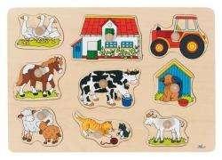 Greif-Puzzle Bauernhof I