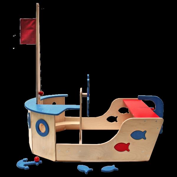 Spielmöbel Fischkutter