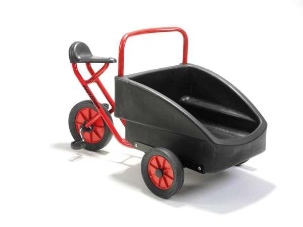 """Dreirad mit Transportbox """"Kangaroo"""" für Kinder von 4 - 7 Jahren"""