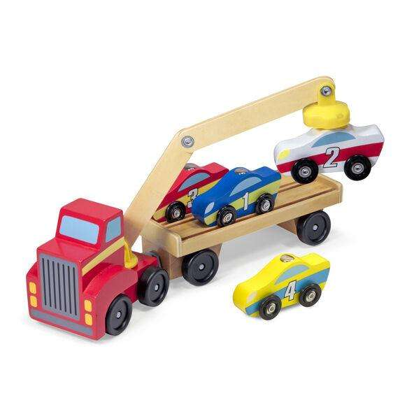 Autotransporter mit Magnetarm