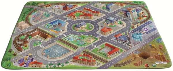 Spielteppich Soft Stadt