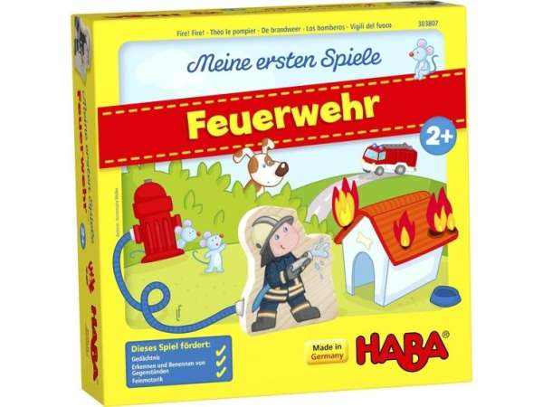Feuerwehr Meine ersten Spiele von Haba