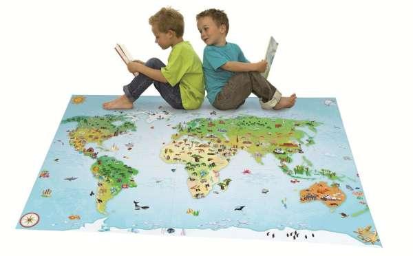 Spielteppich Kontinente