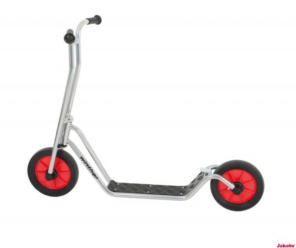 Viking Star Scooter Maxi Chrom für Kinder von 8 - 12 Jahren