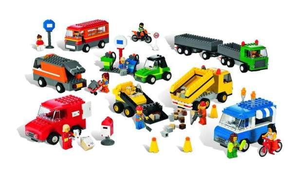 LEGO Fahrzeuge Set 934 Teile
