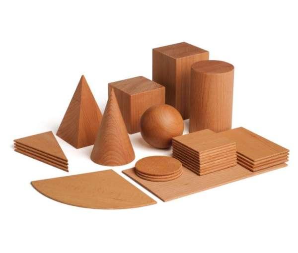 Lernspiel Geometrische Körper