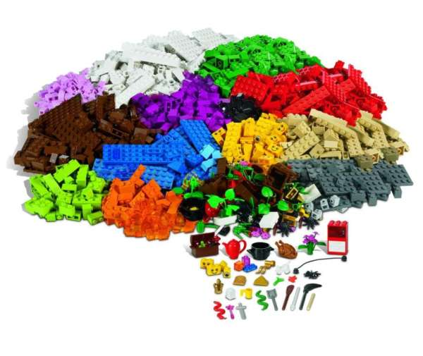 LEGO Spezialsteine 1207 Teile