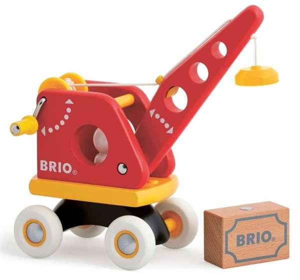 Roter Kran von Brio
