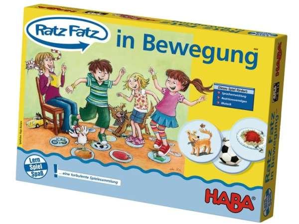 HABA Lernspiel Ratz Fatz – in Bewegung