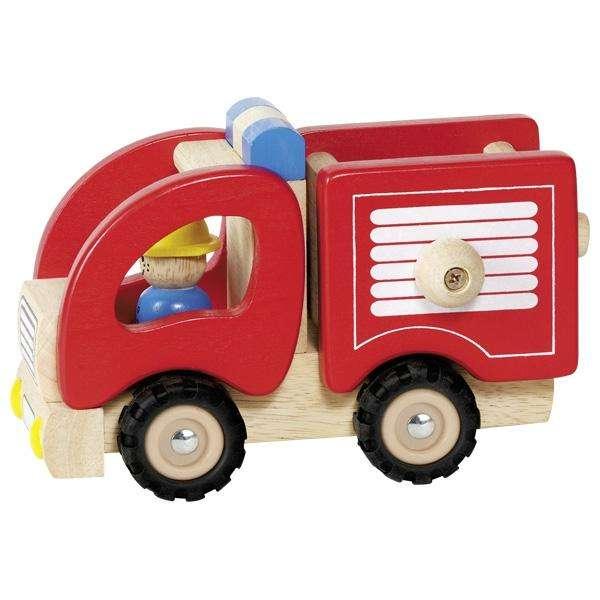 Feuerwehr - Holzauto