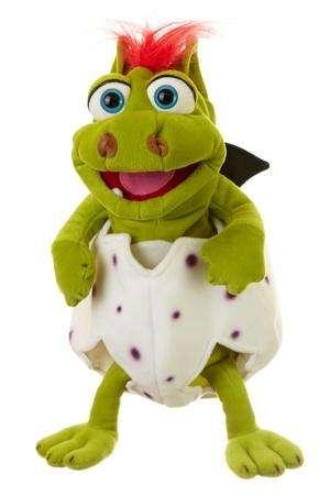 Klein Gregor im Ei - Handpuppe von Living Puppets