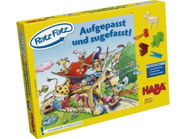 HABA Lernspiel - Ratz Fatz – Aufgepasst und zugefasst