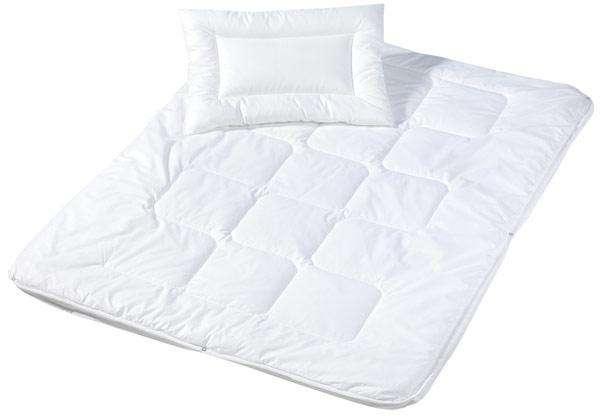 Babybett-Bettdecke - Set Kopfkissen und Decke