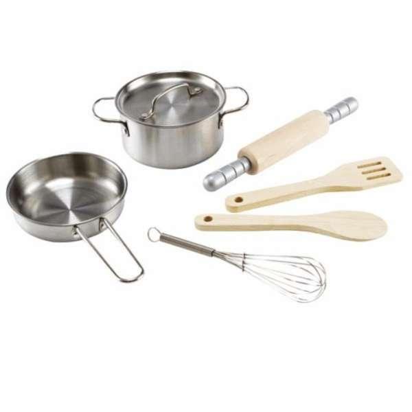 Kochset für kleine Küchenchefs