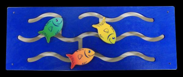 Wandspiel Fische