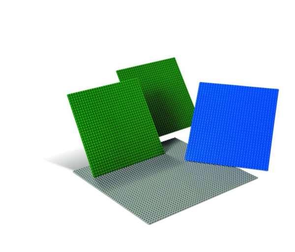 LEGO Bauplatten groß - Set 4 Teile